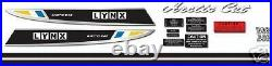 1971 Arctic Cat Lynx 292 Complete Decal Graphic Kit