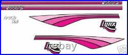 1979 Arctic Cat Lynx Partial Decal Graphic Kie Like Nos