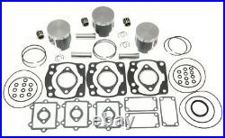1995-2000 Arctic Cat ZRT 600 ZRT600 Pistons Bearings Top End Gasket Rebuild Kit
