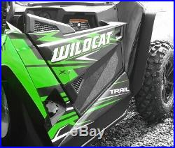2014-2019 Arctic cat Wildcat 700 Trail & Sport Black Lower Door Extensions