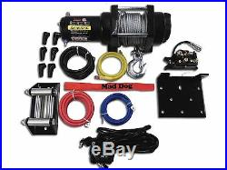 2500lb Mad Dog Winch Mount Combo Arctic Cat Textron 14-18 Wildcat Sport/Trail