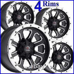 4 ATV RIMs WHEELs fits some Arctic Cat 250 300 400 500 650 12x7 4/115 4+3
