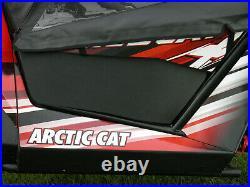 ABS DOOR INSERTS for Mfg Lower Hard Doors Arctic Cat WILDCAT Trail + Sport