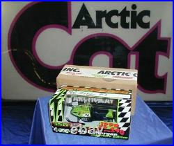 ARCTIC CAT DIECAST SNOWMOBILE 1999 ZR 440 Sno Pro Blair Morgan #7c COLLECTIBLE