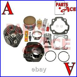 Arctic Cat 90 Youth Y12 Cylinder Head Piston Kit Gaskets Clips Pin 2002 2004