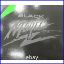 Arctic Cat Black Magic Hood & Side Panel Graphics Decal Wrap 2012-2018 ZR F XF M