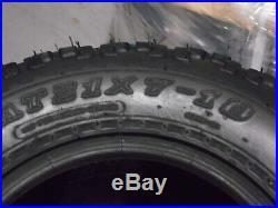 Arctic Cat DVX 400 Quadking Sport Atv Tires (all 4 Tires) 21x7-10, 20x10-9