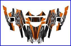 Arctic Cat Firecat Sabercat Graphics 2003 2004 2005 2006 F5 F6 F7 #3333 Orange