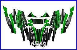 Arctic Cat Firecat Sabercat Graphics wrap kit F5 F6 F7 2003 2006 #3333 Green