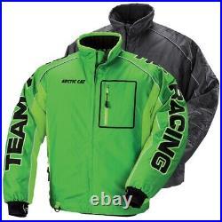 Arctic Cat Men's Team Arctic Racing Pro Flex Snowmobile Jacket Green, Black