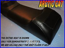 Arctic Cat Powder Special 1998-99 500 600 LE seat cover EFI JAG 340 black 675B