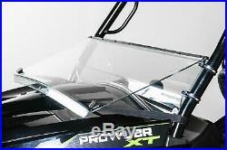 Arctic Cat Prowler HDX/XT Full Tilting Windshield 3/16 Models 2015+