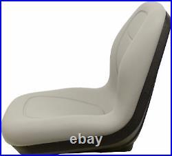 Arctic Cat Prowler Pair (2) Gray Seats Replaces OEM# 1506-925