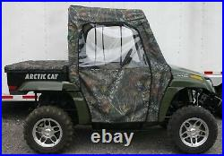 Arctic Cat Prowler UTV Side by Side Full Cabin Cab Enclosure System Mossy Oak