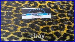 Arctic Cat Seat Vinyl Yellow Leopard Panther, Puma, King Kat, Exact pattern Vinyl
