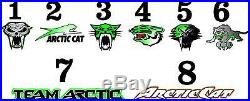 Arctic Cat Snowmobile F8 Series 07-13 Shear BODY WRAP KIT DECAL STICKER