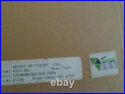 Arctic Cat Vintage Thermometer Still In He Box