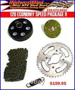Arctic Cat Z120 YAMAHA 120 Speed Hop Up Gearing Kit 2010-2020 ON SALE NOW