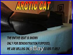 Arctic Cat ZR500 ZR600 ZR800 ZR900 2001-03 New seat cover with knee pads 837B