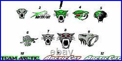 Arctic Cat Zr Procross Proclimb Snowmobile Graphics Kit 12-18, Fxv2 Wrap 129