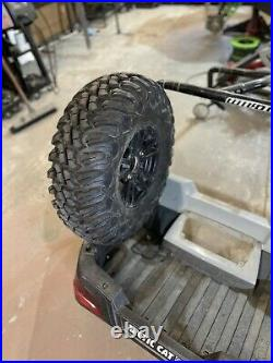 Arcticcat wildcat trail/sport roll cage mounted spare tire carrier