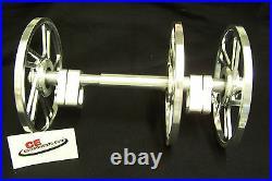 Billet 8 3 Wheel BIG WHEEL KIT Skidoo / Actic Cat / Polaris / Yamaha Idler