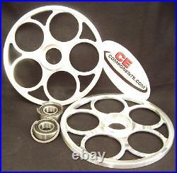 Billet 9 Idler wheels Skidoo / Actic Cat / Polaris / Yamaha snowmobiles M