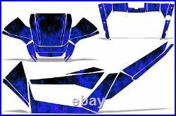 Graphics Kit Wrap For Arctic Cat Wildcat 1000 UTV Decals SxS 2012-2014 ICE BLUE