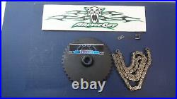 Kitty Cat Snowmobile 1972-1999 Drive Sprocket 0300-156 & Chain 0300-122 NEW