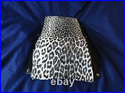 Kitty Cat Snowmobile Seat Cover Only 72 TO 79 Original Paw Print Pattern Vinyl