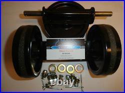 Kitty Cat Snowmobile Wheel kit 1972-1999! (NEW)Suzuki, Kawasaki, Arctic Cat
