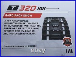 New Arctic Cat Z ZL ZR ZRT JAG T660 Snowmobile Track 121 X 15 X 1.25 Lug