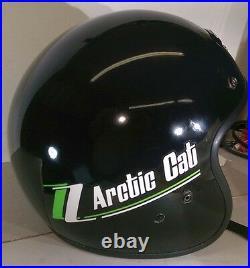 New Retro Vintage Arctic Cat Z Snowmobile Helmet