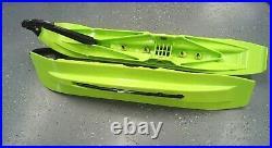 OEM Arctic Cat G2 Pro Climb Snowmobile Ski Kit Hyper Green 8639-241