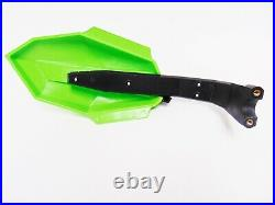 OEM Arctic Cat Snowmobile Hand Guards Medium Green READ LISTING 4 FIT 8639-353