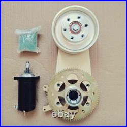 Reduction drive for Rotax 582 engine with extended pulley distance, Arctic Cat i