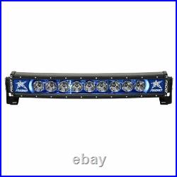 Rigid Industries 20 Curved Radiance Plus Light Bar With Blue Backlight 32001