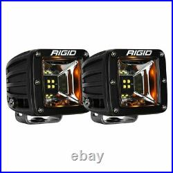 Rigid Industries 68204 Surface Mount Radiance Scene With Amber Backlight Pair