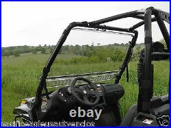 STANDARD Vented Clear LEXAN WINDSHIELD + Std Clamps Arctic Cat PROWLER New