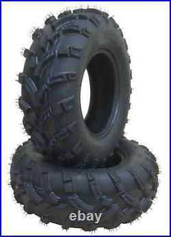 Set of 4 WANDA ATV/UTV Tires 25X8-12 25X10-12 for 2000-2009 ARCTIC CAT 500