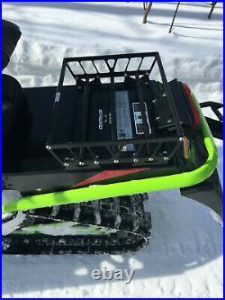 Small Universal Snowmobile Tunnel Rack, Tunnel Bag Rack, Cargo Rack, Arctic Cat