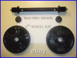 Sno Pro 500 600 4th Wheel Kit! Life Time Warranty