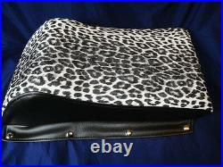 Vintage Arctic Cat Kitty Cat LEOPARD REPRODUCTION SEAT Cover & Handle Bar Cover