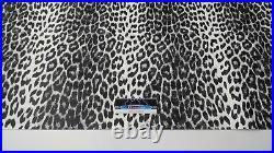 Vintage Arctic Cat Seat Vinyl White Leopard Panther, Puma, King Kat, Kitty Cat