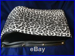 Vintage Kitty Cat Seat Cover Original LEOPARD REPRODUCTION SEAT, Arctic Cat 72-79